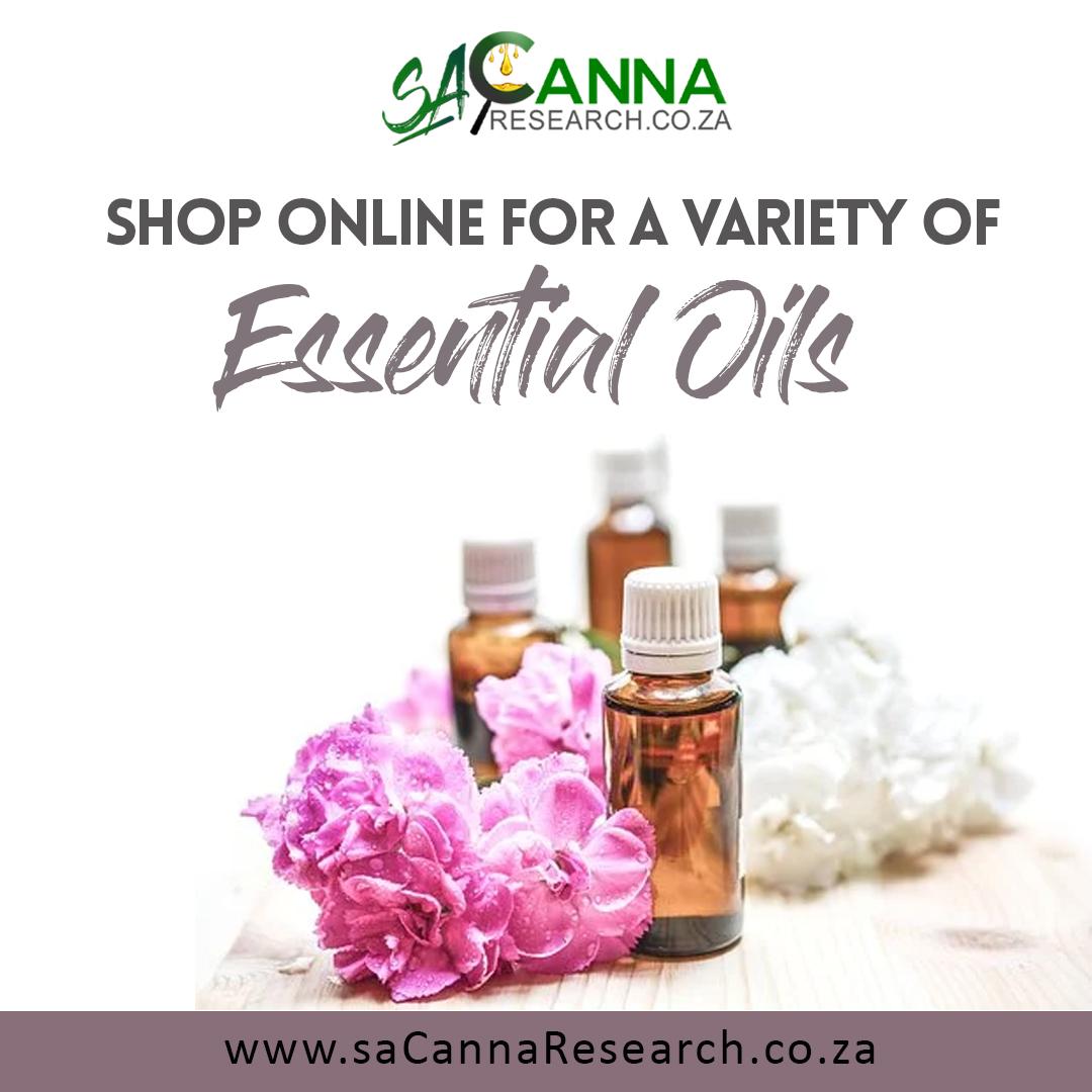 saCanna Ad - Essential Oils