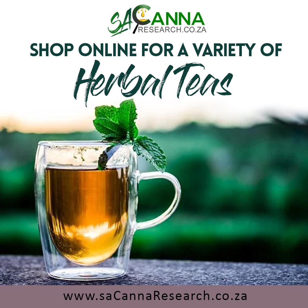 saCanna Ad - Herbal Teas